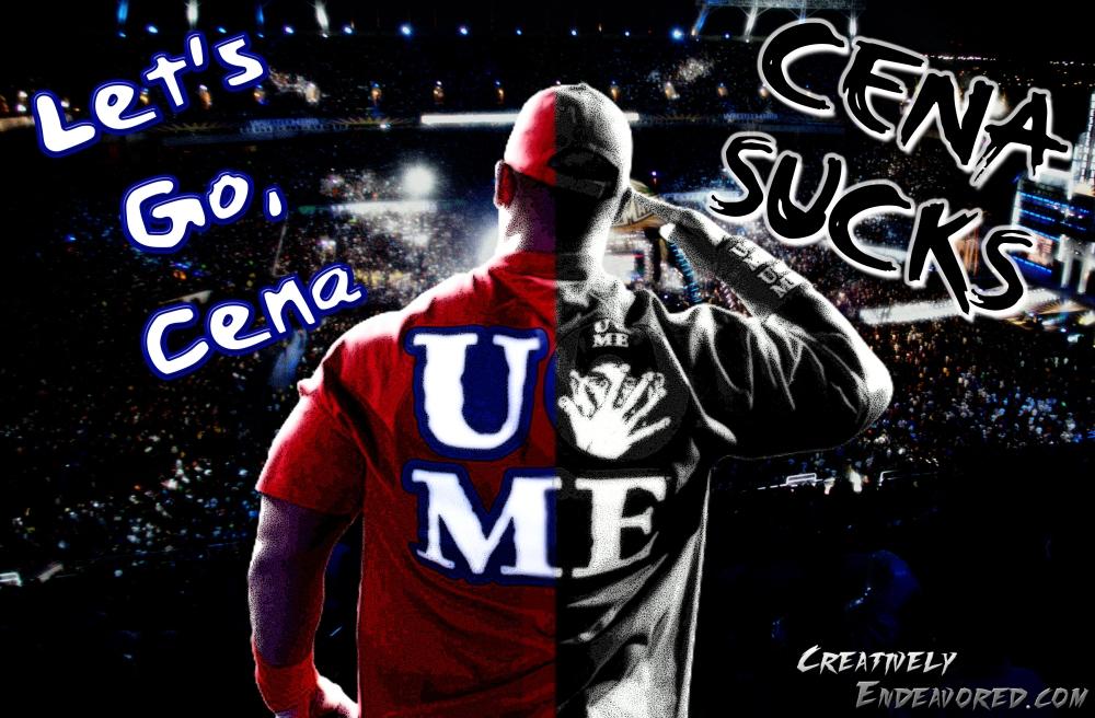 "John Cena ""Two-Face"" Wallpaper"