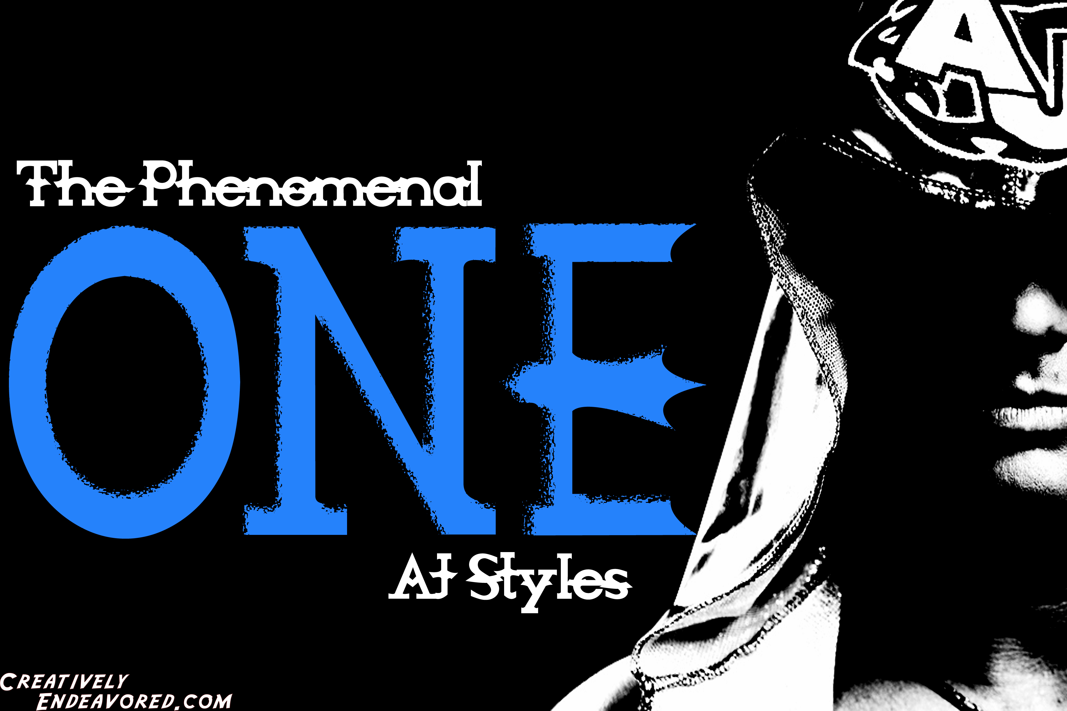 Wallpaper Wednesday Aj Styles The Phenomenal One Wallpaper