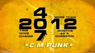 CM Punk Title Reign 12-26-12