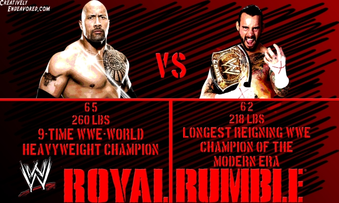 Punk vs Rock Royal Rumble Wallpaper