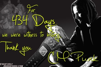 CM Punk '434' Wallpaper