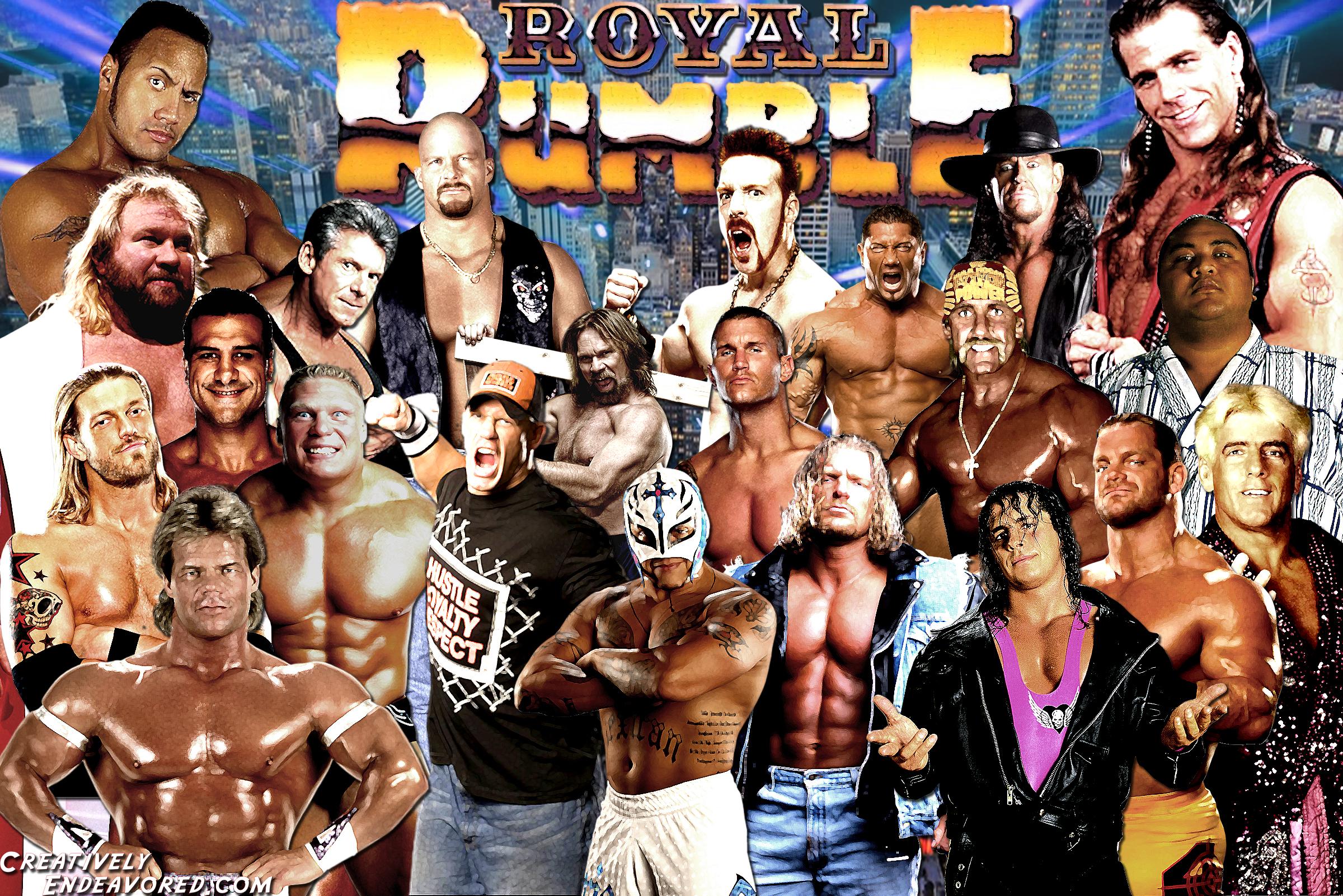 royal rumble winners