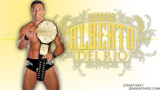 Alberto Del Rio 'Champion' Wallpaper
