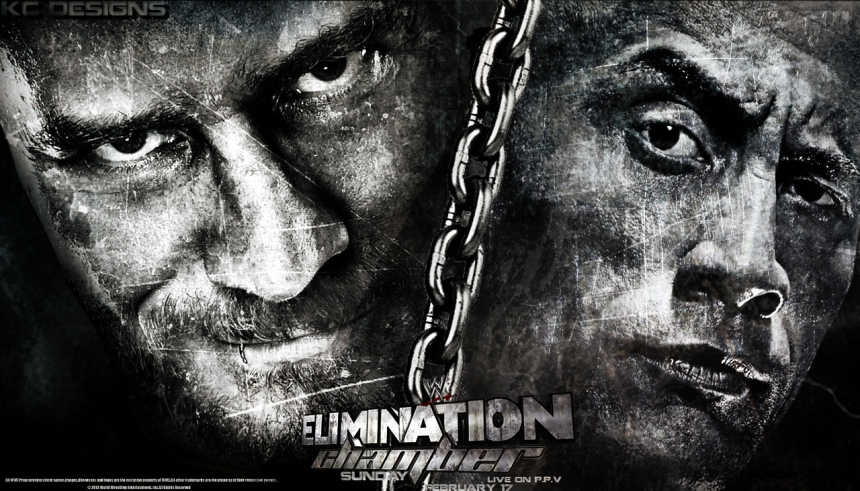 WWE Elimination Chamber Match 2013 Poster