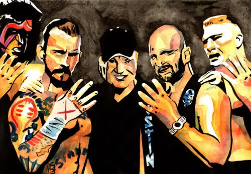 Wrestling Pulsecast Interview With Artist Rob Schamberger