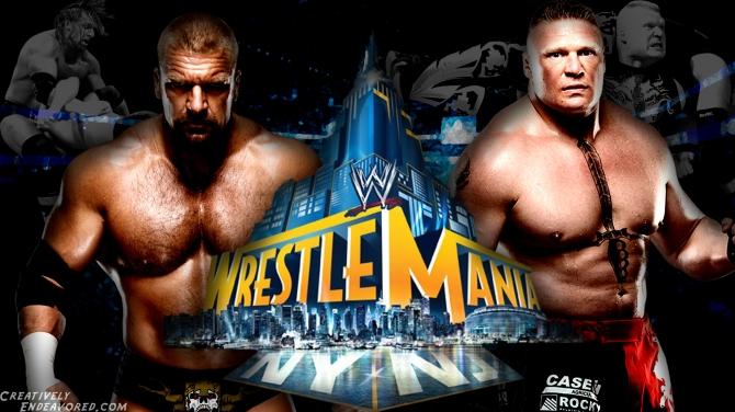 Triple H vs Brock Lesnar - WrestleMania 29