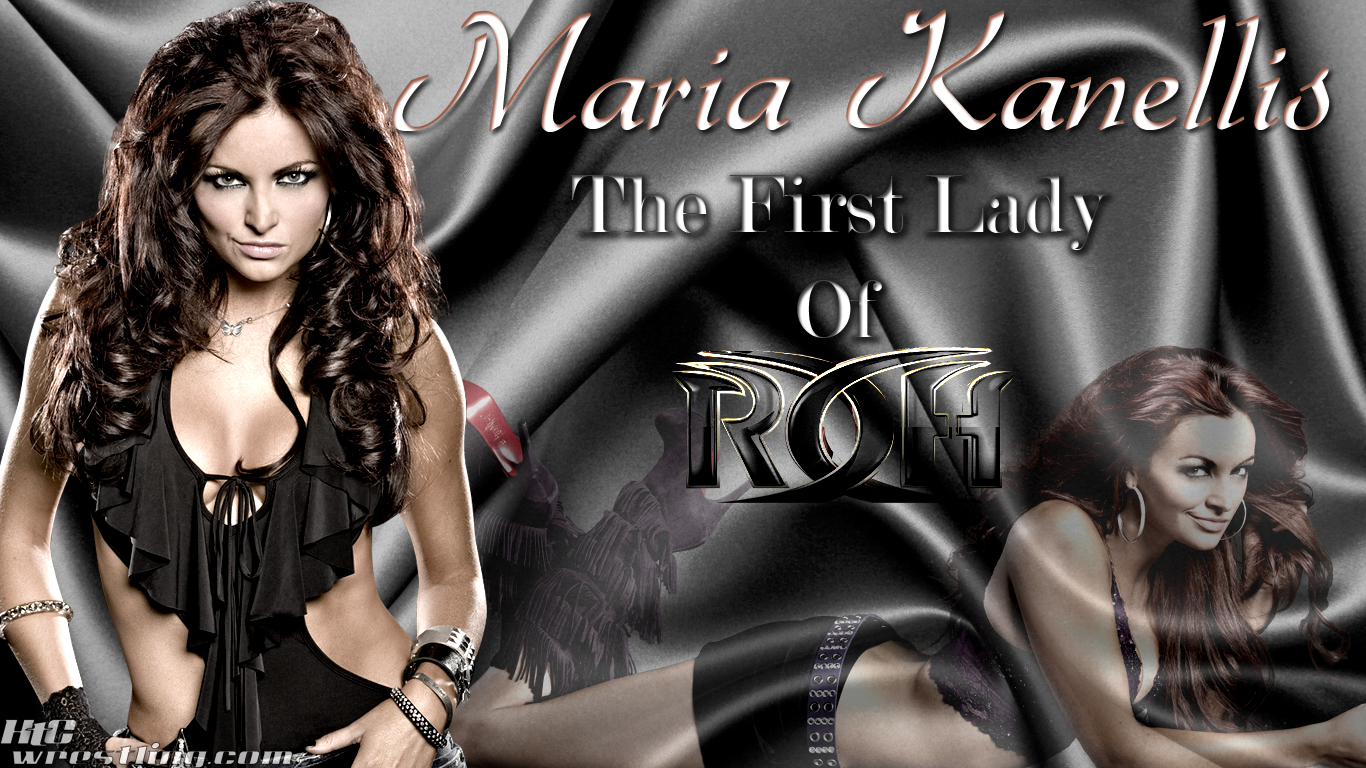 Maria Kanellis - The First Lady Of ROH Wallpaper