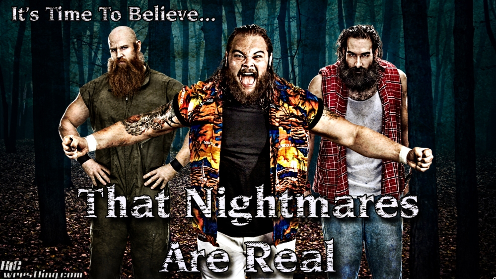 The Wyatt Family - The Nightmares Are Real Wallpaper