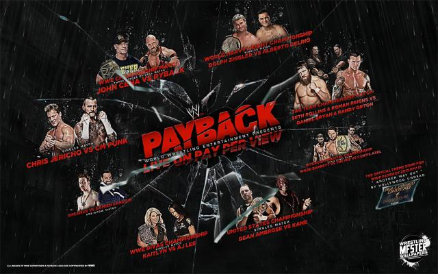 WWE Payback 2013 Header