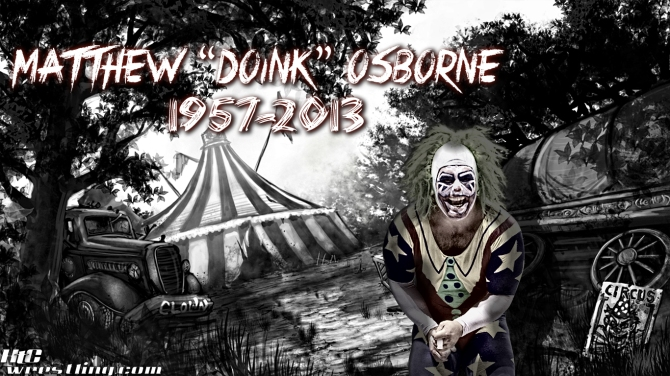 Matt Borne - RIP Doink Wallpaper