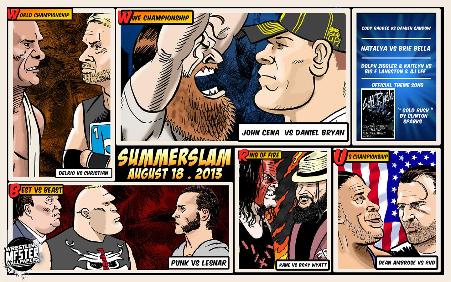 SummerSlam 2013 Header