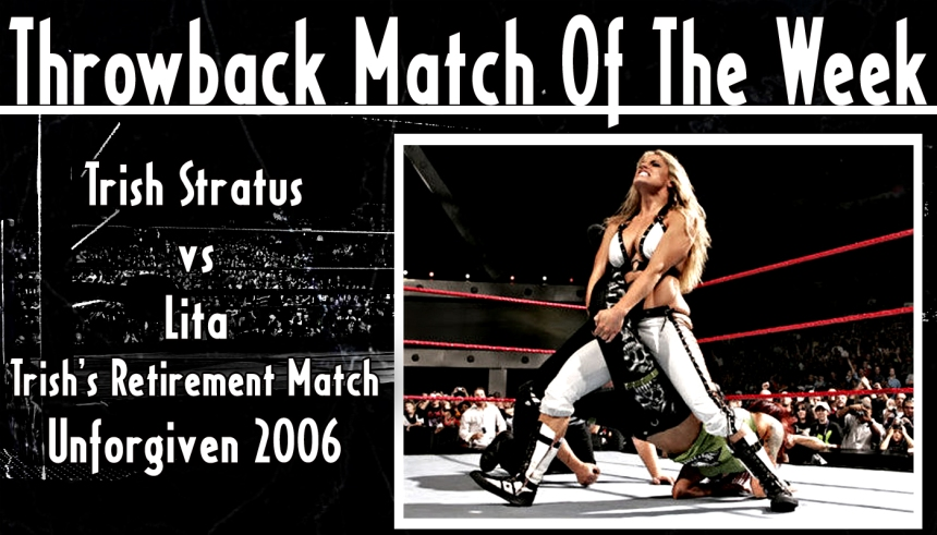TMotW - Trish Stratus vs Lita Unforgiven 2006