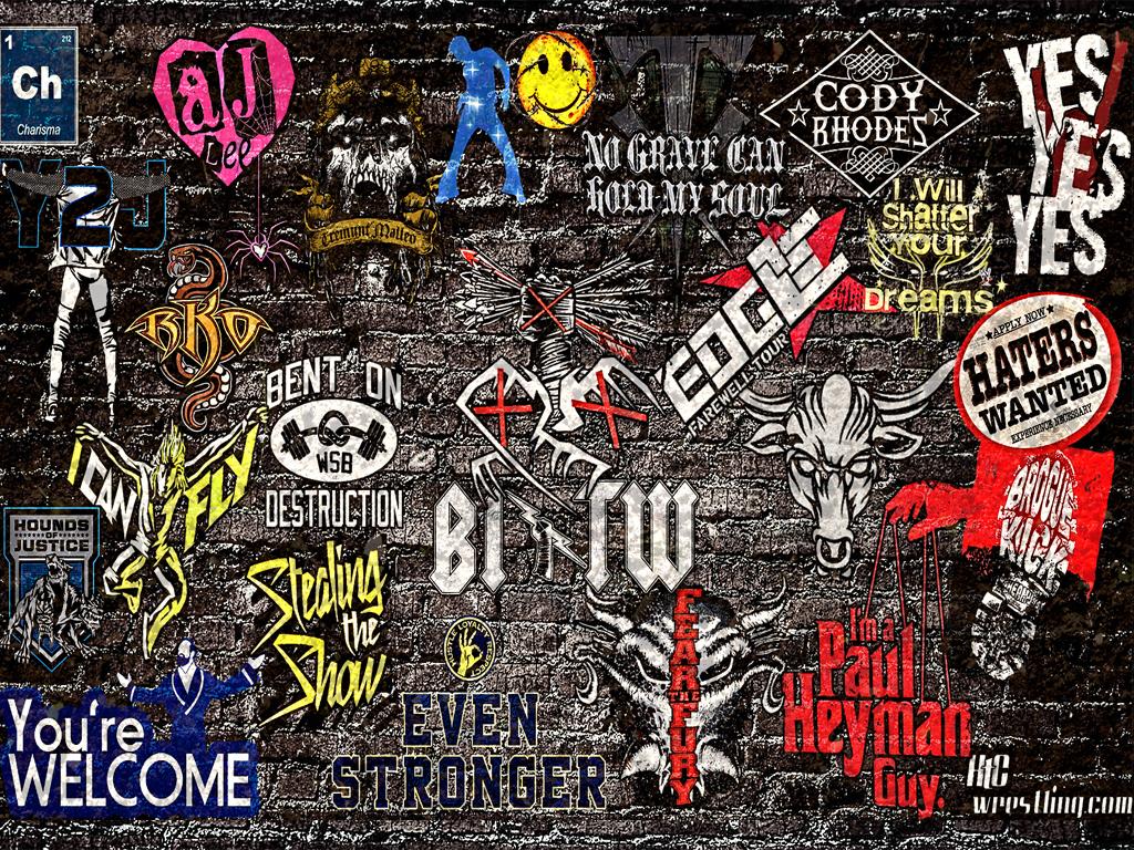 wallpaper of the week wwe sticker 2013 wallpaper