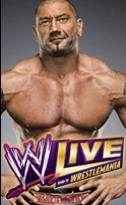 Batista on WWE Live Poster 1