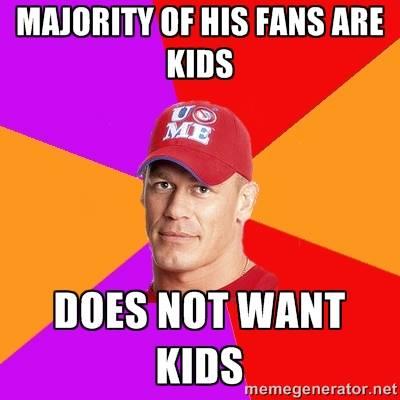 John Cena Kids Meme