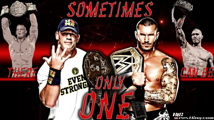 WWE Unification Match 2013 Wallpaper
