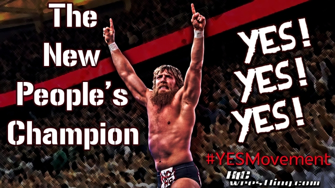 Daniel Bryan - The New People's Champion Wallpaper