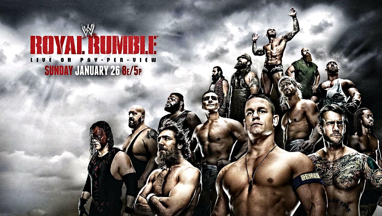 John Cena Royal Rumble 2015