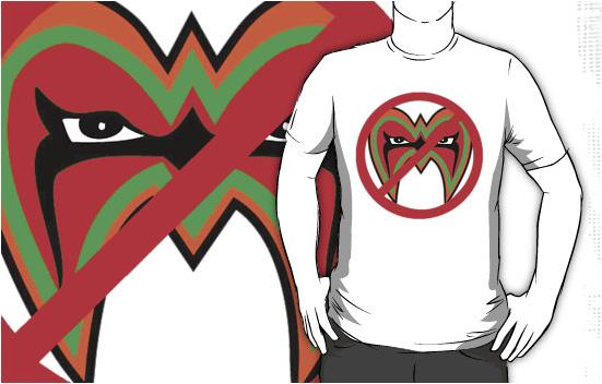 Ultimate Warrior - Vote NO For The HoF T-Shirt