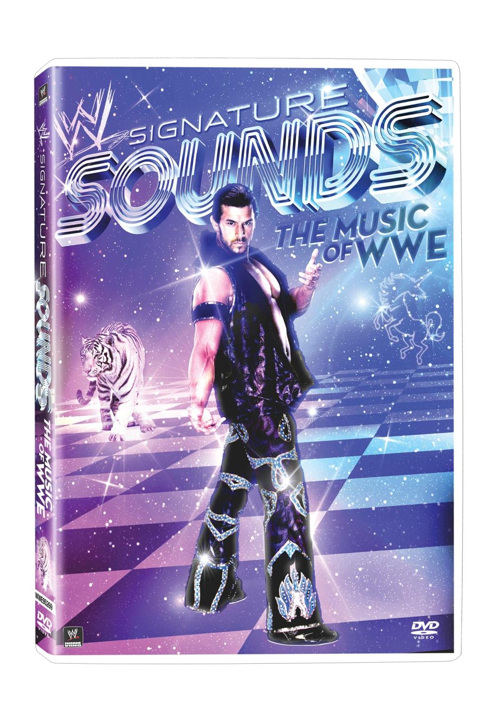 WWE Signature Sounds DVD cover art