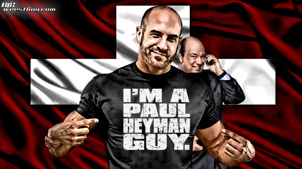 Cesaro - Paul Heyman Guy Wallpaper