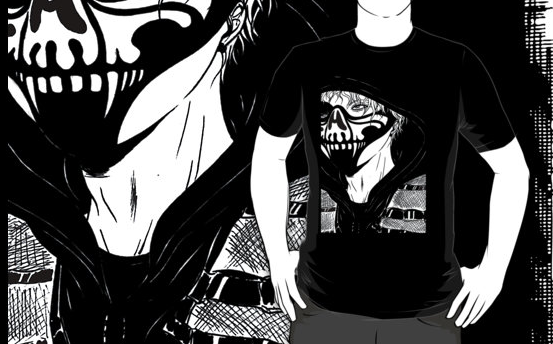 Dean Ambrose - Hound Of Justice T-Shirt