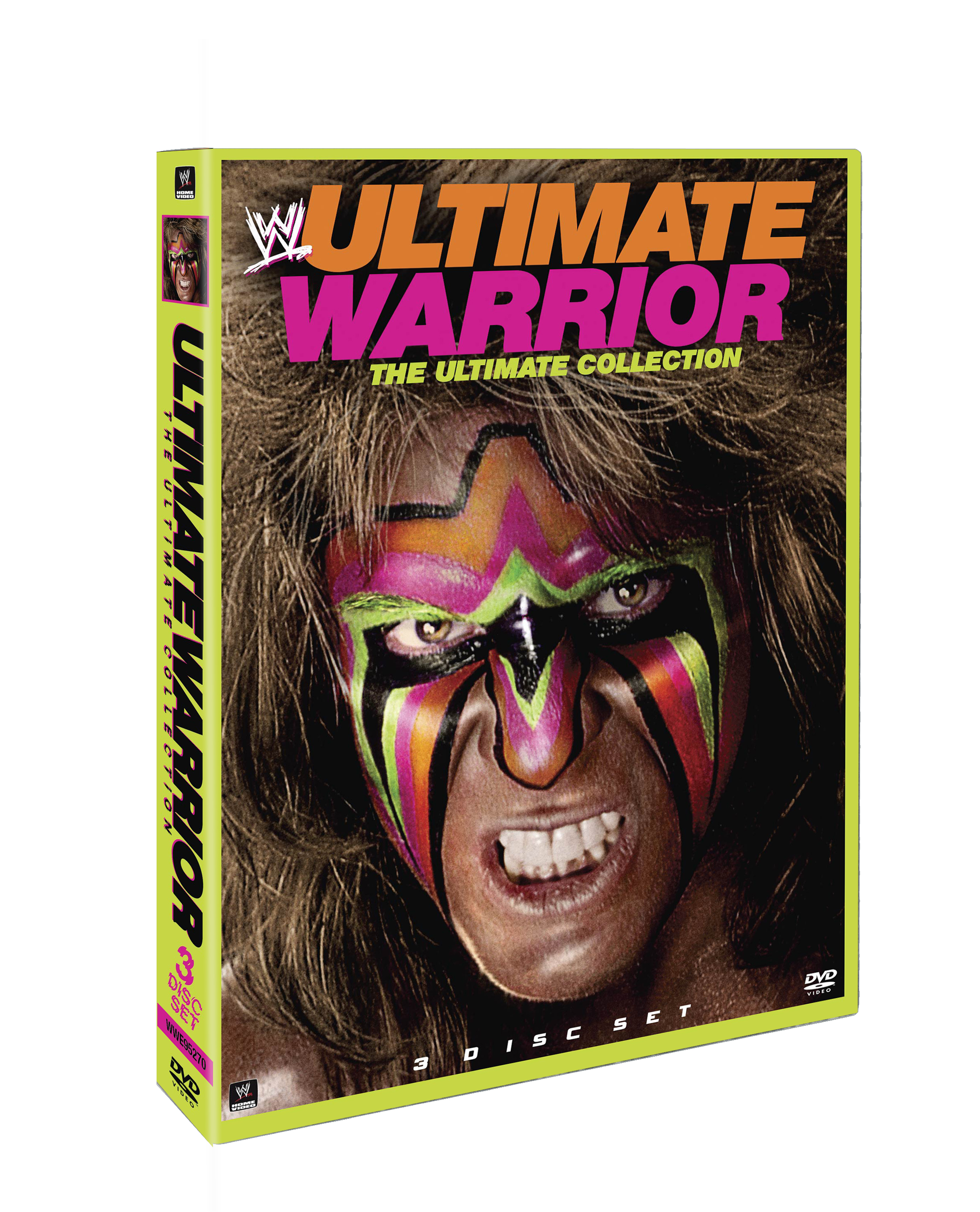 Ultimate Warrior - The Ultimate Collection Cover Art