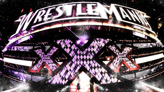 WWE WrestleMania 30 Header
