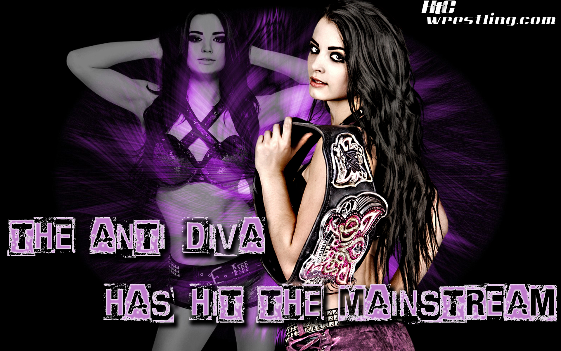 Wallpaper of the week paige the anti diva arrives - Wwe divas wallpapers ...