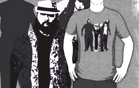 The Wyatt Family - Family Portrait T-Shirt Screenshot