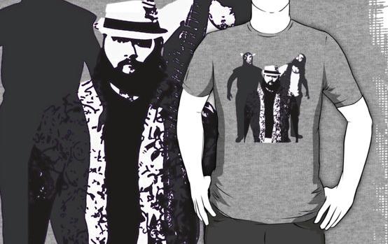 The Wyatt Family - Family Portrait T-Shirt Screenshot