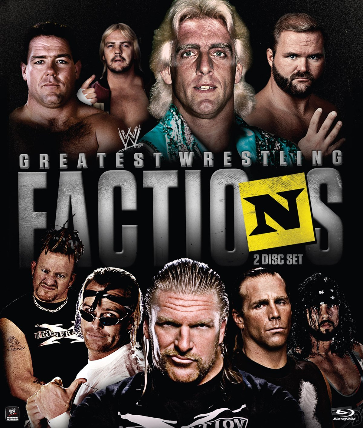 Dvd Review Wwes Greatest Wrestling Factions Inside Pulse