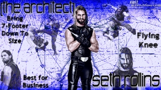 Seth Rollins - The Architect Wallpaper
