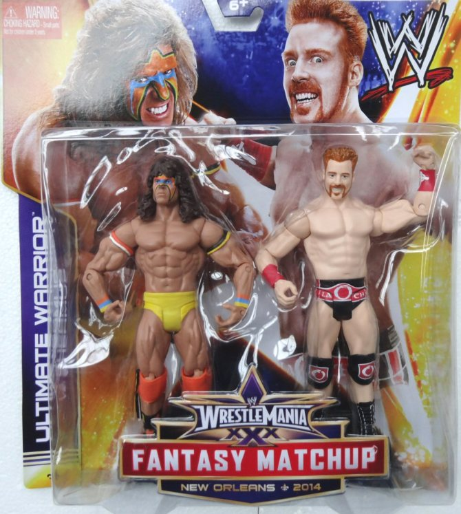 wrestlemania-30-battlepacks-sheamus-vs-the-ultimate-warrior