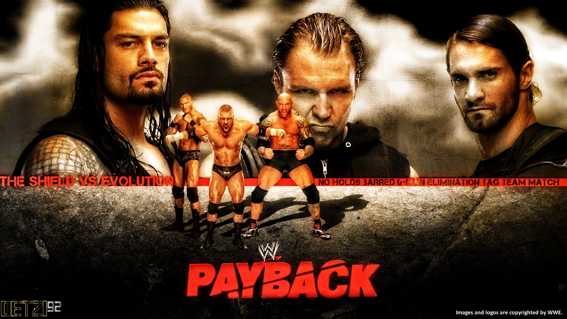 5 Thoughts: WWE Payback 6 1 14 (Evolution vs The Shield