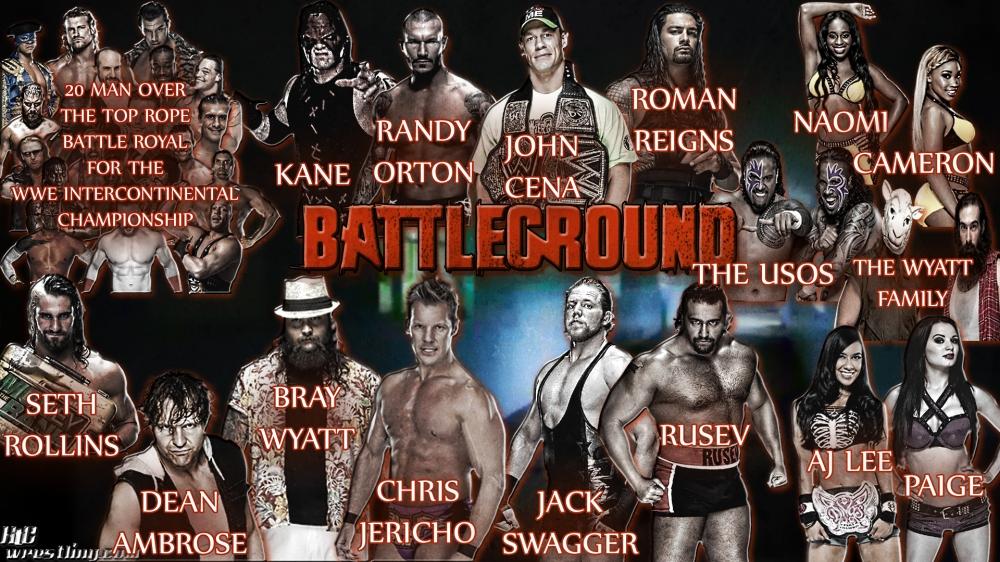 Battleground 2014 Match Card