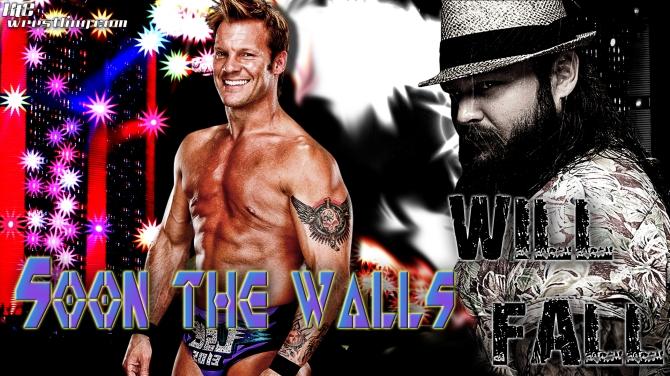 Chris Jericho vs Bray Wyatt - The Walls Will Fall Wallpaper
