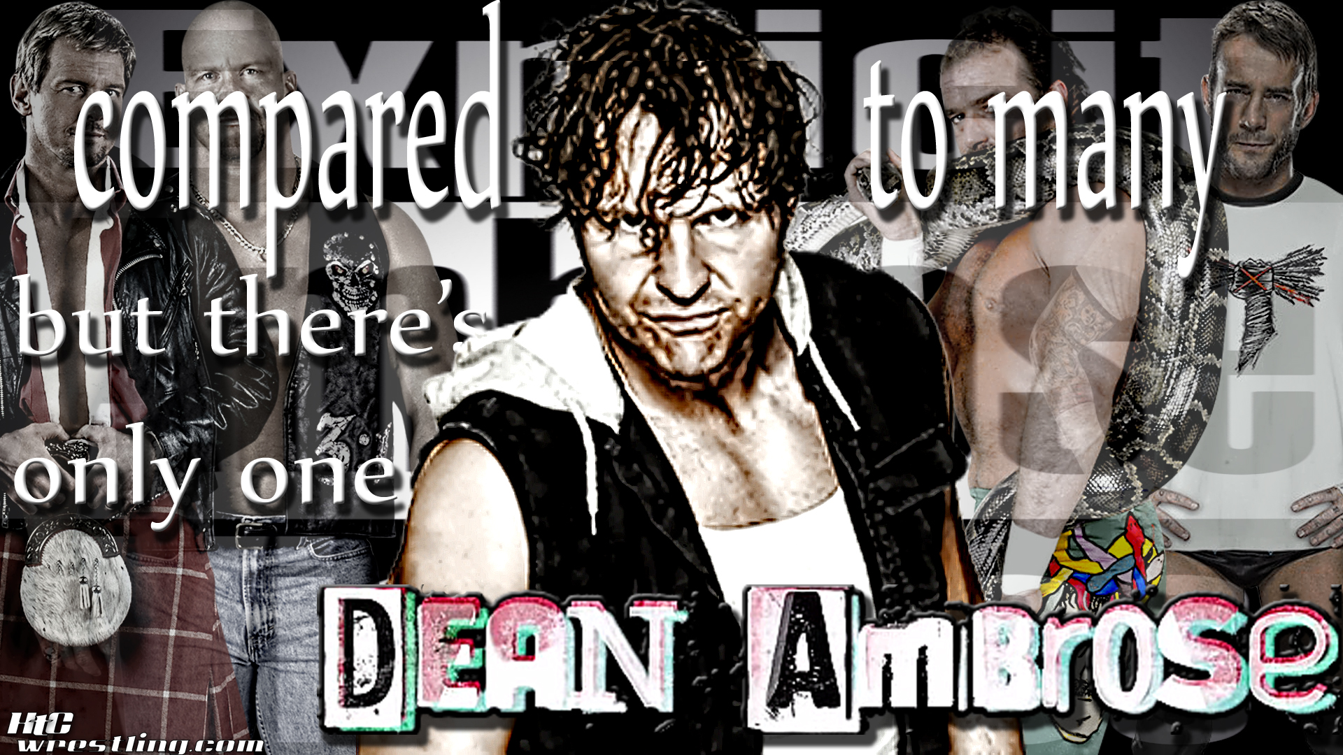 One & Only Dean Ambrose Wallpaper