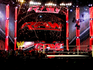 WWE Raw Header - 2014