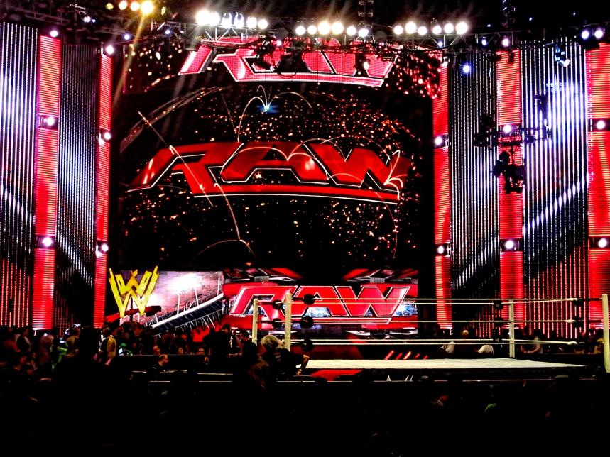 WWE Raw Header - 2014