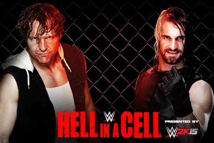 2014 Ambrose vs Rollins