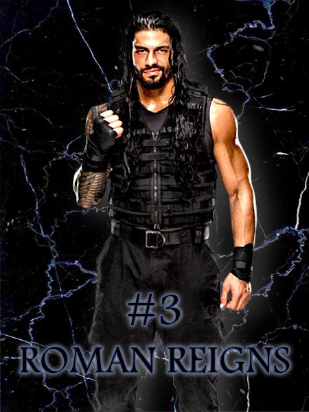 3 - Roman Reigns