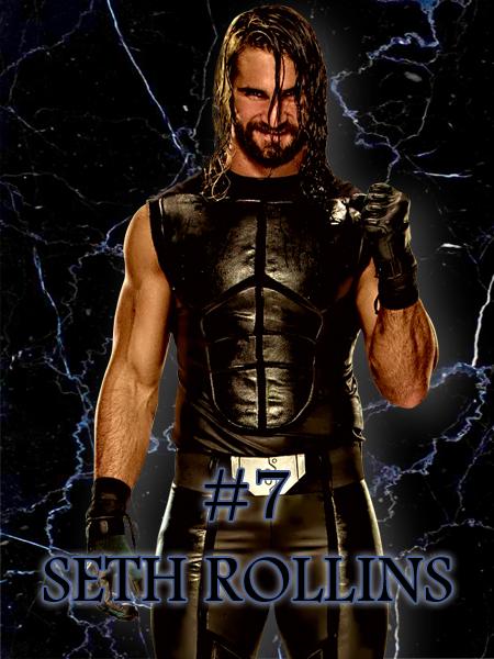 7 - Seth Rollins