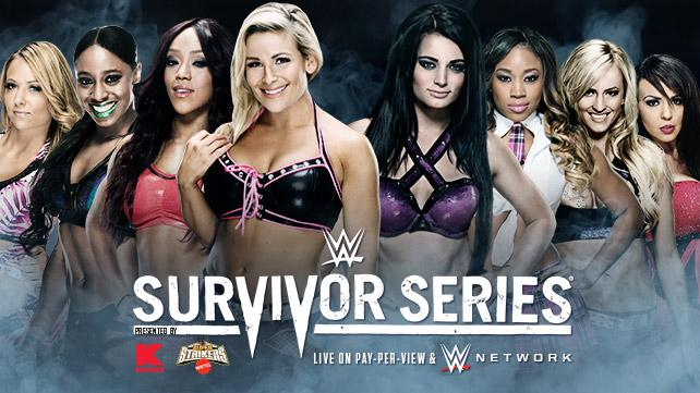 Alicia Fox, Natalya, Naomi & Emma vs. Paige, Cameron, Summer Rae & Layla (Divas Traditional Survivor Series Elimination Tag Team Match)