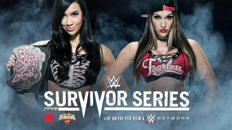 Divas Champion AJ Lee vs. Nikki Bella