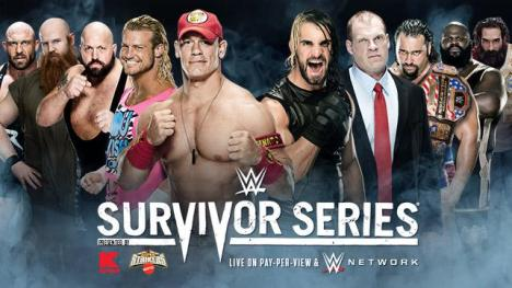 Team Cena vs. Team Authority (Traditional Survivor Series Elimination Tag Team Match)