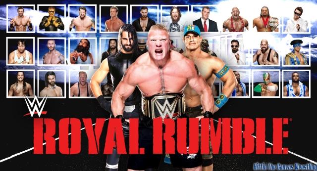 2015 Royal Rumble Wallpaper