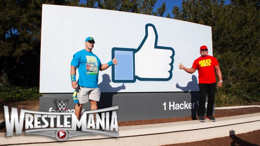 WWE and Facebook