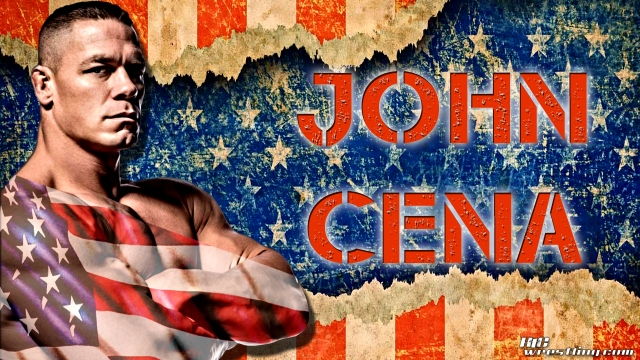 John Cena - The Patriotic Champ Wallpaper