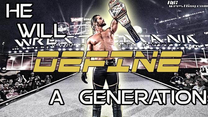 Seth Rollins - Defining A Generation Wallpaper